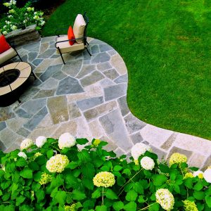 Trendy Backyard 1-Patio Topview